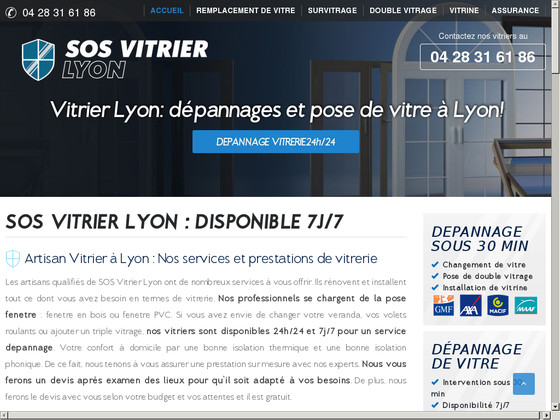 sos vitrier votre professionnel de vitrerie lyon. Black Bedroom Furniture Sets. Home Design Ideas